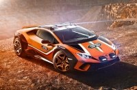 Lamborghini скрестила Huracan с кроссовером Urus