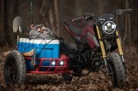 Industrial Moto представляет Honda Grom с коляской