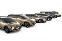 Toyota расширила планы электрификации с шестью глобальными моделями
