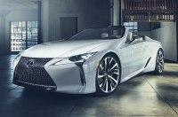 Lexus подготовит для Гудвуда серийную версию кабриолета LC