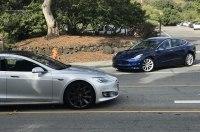 Электромобили Tesla Model S и Model 3 были замечены в новом обличии