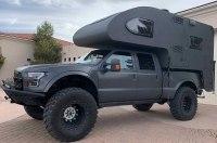 Энтузиасты собрали кемпер для путешествий на базе Ford Raptor