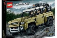 Lego анонсировал дебют нового Land Rover Defender конструктором