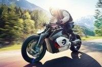 BMW представила концепцию электрического мотоцикла Vision DC Roadster