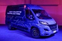 Fiat представила электрическую версию микроавтобуса Ducato
