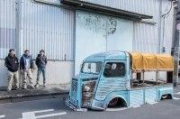 Шокирующий японский взгляд на старый фургон Citroen