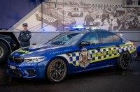 BMW M5 становится самой быстрой полицейской машиной в Австралии