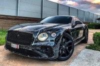 В Украине заметили очень необычный Bentley Continental GT 2019