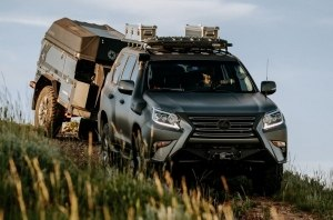 Lexus представил концепт Lexus GX для бездорожья