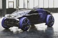Citroen презентовал концепт 19_19 с футуристичными колесами