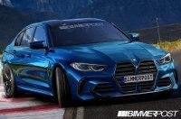 Показаны первые изображения нового BMW M3