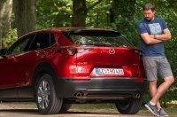 Первый русскоязычный тест-драйв новой Mazda CX-30 2020-го модельного года