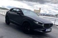Первый электрокар от Mazda сфотографировали в Норвегии