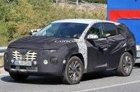Новый Hyundai Tucson впервые появился на испытаниях