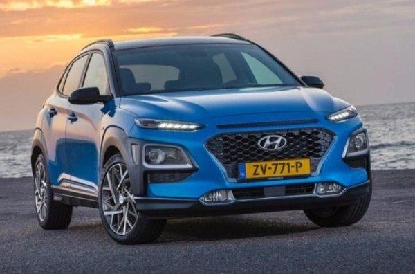 Hyundai представила гибридную версию паркетника Hyundai Kona