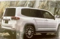 Новинка Toyota Land Cruiser 300 2021 года в глянце, первые изображения