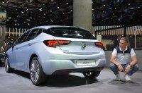 Opel представил во Франкфурте рестайлинговую Astra K