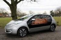 Nissan Leaf превратили в экологичный катафалк