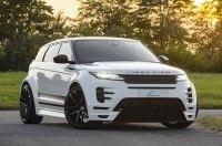 Новый Range Rover Evoque стал брутальнее и шире