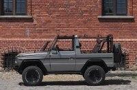 Показали отреставрированный армейский Mercedes-Benz G-Class
