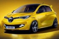 Электрический Renault ZOE RS приедет на замену Clio RS