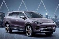 Daimler и китайская BYD показали новый электрический кроссовер Denza X