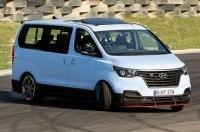 Hyundai представил 402-сильную версию фургона iMax/H-1 для дрифта