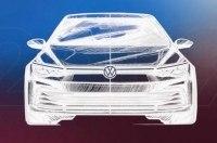 Volkswagen анонсировал премьеру нового VW Golf