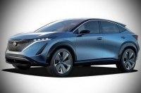 Внешность первого электрокроссовера Nissan раскрыли за день до премьеры