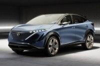 Nissan представила концептуальный электрический кроссовер Aria
