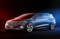 Рассекречена внешность минивэна Volkswagen Viloran