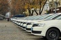 Патрульная полиция Украины получила 50 новеньких Skoda Rapid