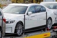 Электрическая версия BMW 7-й серии: первые фото