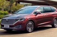 В Сеть попали фото большого минивэна Volkswagen Viloran