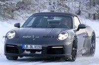 Porsche 911 Targa проходит испытания в Арктике