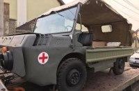 Украинские мастера восстановили уникальный военный внедорожник