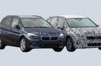 В Сети появились фото интерьера обновлённого BMW 2 серии Active Tourer