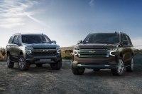 Chevrolet представил новые Tahoe и Suburban
