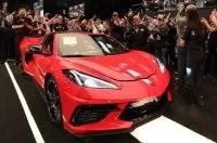 Первый Corvette Stingray С8 продан за 3 миллиона долларов