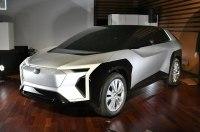 Subaru раскрыла дизайн совместного с Toyota электрического кроссовера