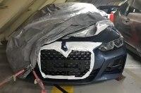 В Сети показали снимки необычной радиаторной решётки нового BMW 4-Series
