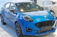 Новый кроссовер Ford Puma ST поймали на тестах без камуфляжа