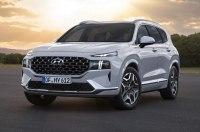 Hyundai показал интерьер и экстерьер обновленного Santa Fe