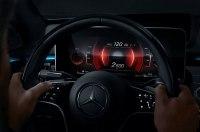 Mercedes похвастался выоскотехнологичным интерьером S-Class