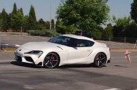 Toyota Supra провалила лосиный тест (видео)