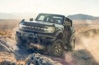 Ford Bronco против огромных булыжников (видео)