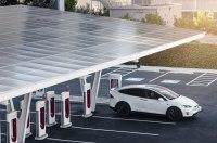 Tesla ограничивает мощность своих зарядных станций в Европе