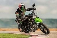 Неожиданная премьера: Супермото Kawasaki KLX300SM
