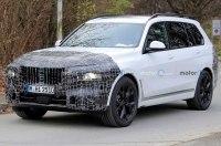 Обновленный X7 получит новую решетку BMW?