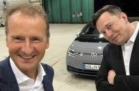Глава VW пошутил над Илоном Маском